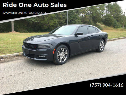 2016 Dodge Charger for sale at Ride One Auto Sales in Norfolk VA