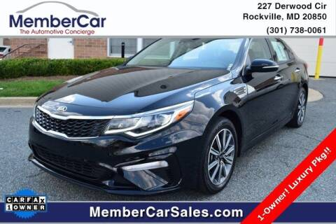 2019 Kia Optima for sale at MemberCar in Rockville MD