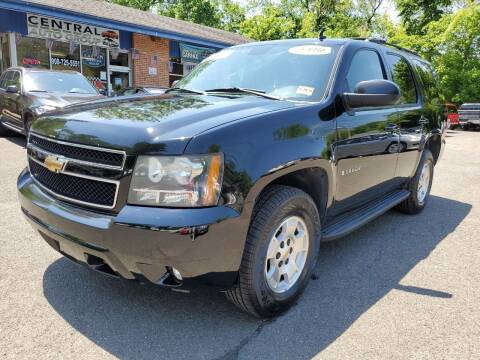 2009 Chevrolet Tahoe for sale at CENTRAL AUTO GROUP in Raritan NJ