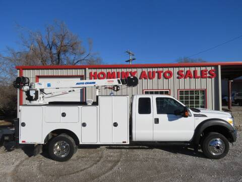 2012 Ford F-450 Super Duty for sale at HOMINY AUTO SALES in Hominy OK
