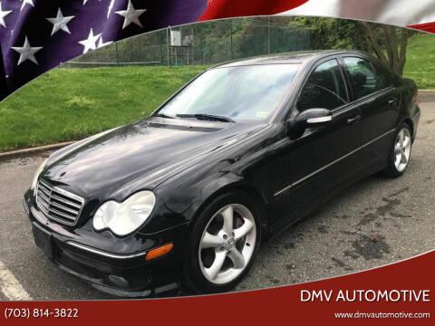 2006 Mercedes-Benz C-Class for sale at DMV Automotive in Falls Church VA