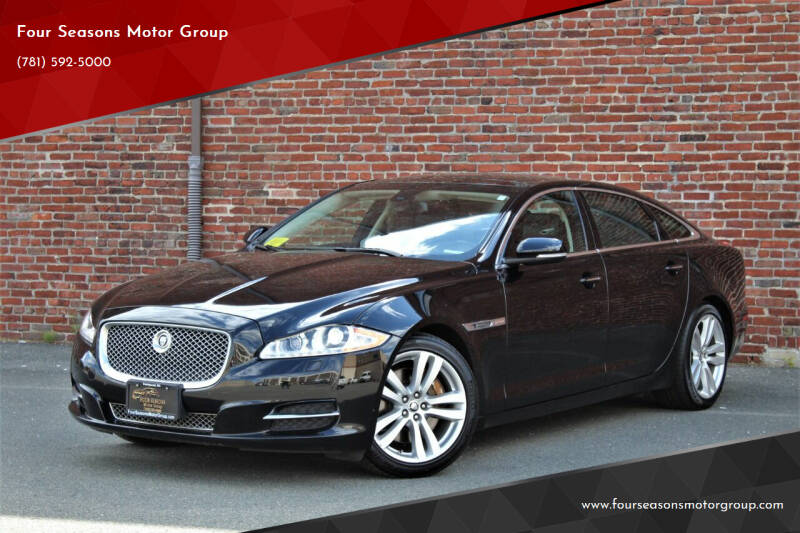 2012 Jaguar XJL for sale at Four Seasons Motor Group in Swampscott MA