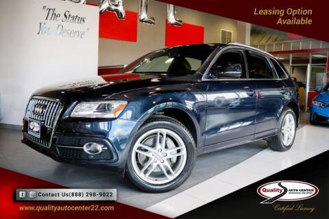 2016 Audi Q5 for sale at Quality Auto Center of Springfield in Springfield NJ