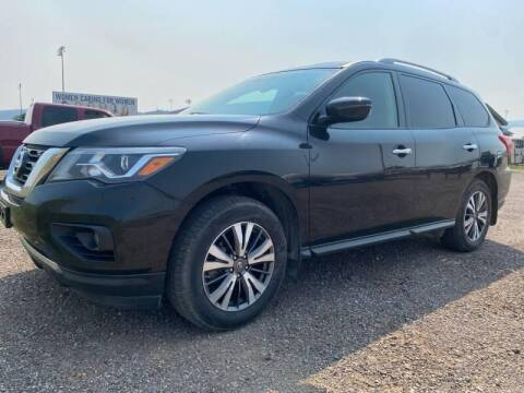 2017 Nissan Pathfinder for sale at Platinum Car Brokers in Spearfish SD