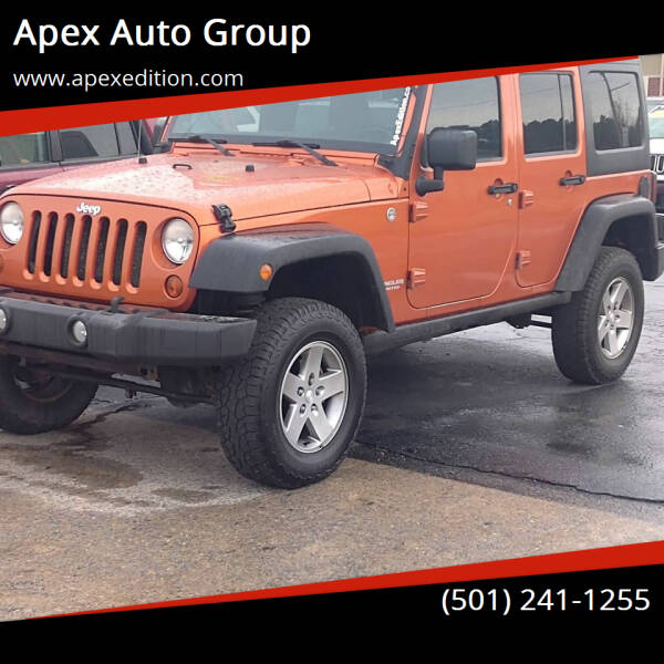 2011 Jeep Wrangler Unlimited for sale at Apex Auto Group in Cabot AR