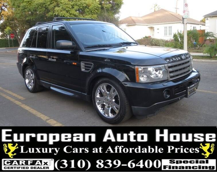 2006 Land Rover Range Rover Sport for sale at European Auto House in Los Angeles CA