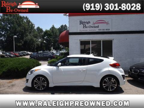 2016 Hyundai Veloster for sale at Raleigh Pre-Owned in Raleigh NC