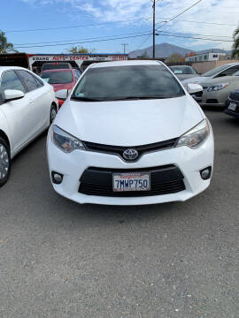 2016 Toyota Corolla for sale at GRAND AUTO SALES - CALL or TEXT us at 619-503-3657 in Spring Valley CA