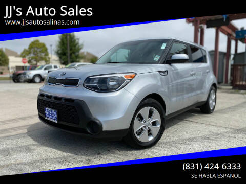 2015 Kia Soul for sale at JJ's Auto Sales in Salinas CA
