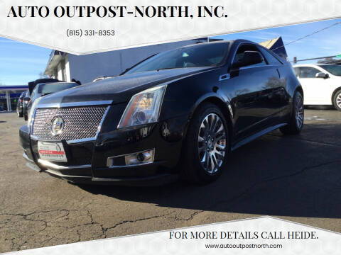2012 Cadillac CTS for sale at Auto Outpost-North, Inc. in McHenry IL