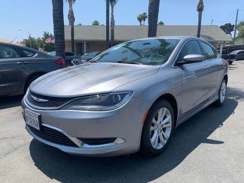 2016 Chrysler 200 for sale at North Coast Auto Group in Fallbrook CA