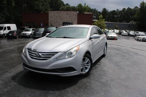 2014 Hyundai Sonata for sale at Atlanta Unique Auto Sales in Norcross GA