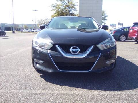 2017 Nissan Maxima for sale at JOE BULLARD USED CARS in Mobile AL