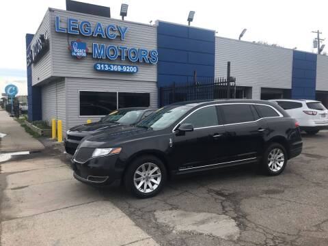 2015 Lincoln MKT Town Car for sale at Legacy Motors in Detroit MI
