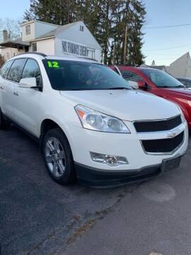 2012 Chevrolet Traverse for sale at Alpha Motors in Scranton PA