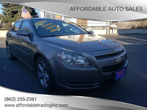 2012 Chevrolet Malibu for sale at Affordable Auto Sales in Irvington NJ