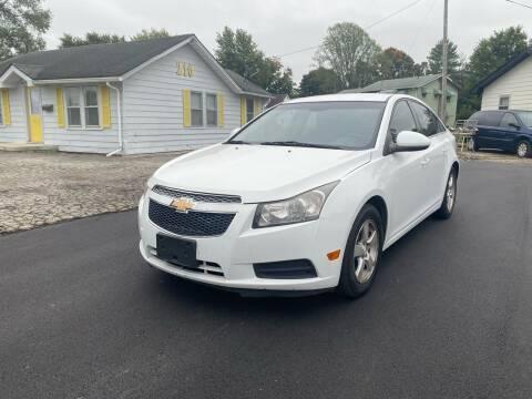 2013 Chevrolet Cruze for sale at CARLUX in Fortville IN