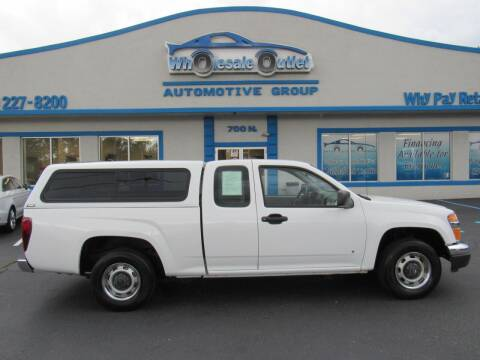 2008 Chevrolet Colorado for sale at The Wholesale Outlet in Blackwood NJ