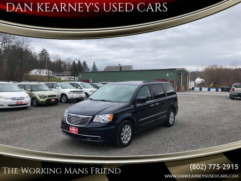 2015 Chrysler Town and Country for sale at DAN KEARNEY'S USED CARS in Center Rutland VT
