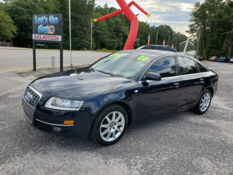 2005 Audi A6 for sale at Let's Go Auto in Florence SC