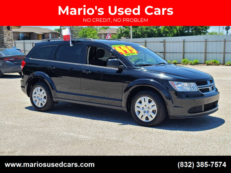 2016 Dodge Journey for sale at Mario's Used Cars - Pasadena Location in Pasadena TX