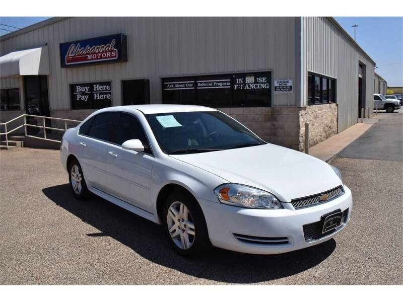 2016 Chevrolet Impala Limited for sale at Chaparral Motors in Lubbock TX