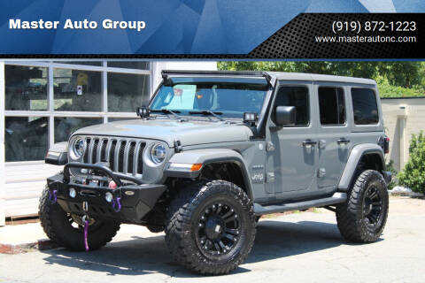 2018 Jeep Wrangler Unlimited for sale at Master Auto Group in Raleigh NC
