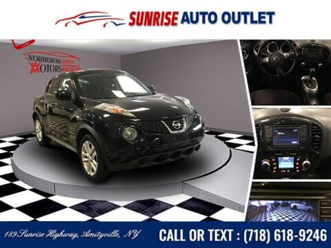 2014 Nissan JUKE for sale at Sunrise Auto Outlet in Amityville NY