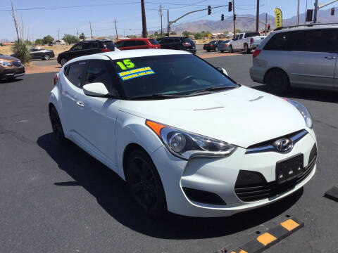 2015 Hyundai Veloster for sale at SPEND-LESS AUTO in Kingman AZ