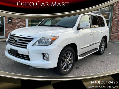 2013 Lexus LX 570 for sale at Ohio Car Mart in Elyria OH