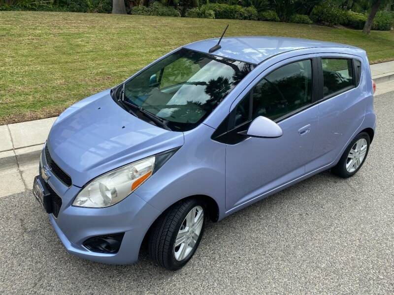 2014 Chevrolet Spark for sale at Donada  Group Inc in Arleta CA