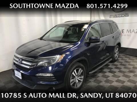 2016 Honda Pilot for sale at Southtowne Mazda of Sandy in Sandy UT