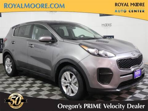 2018 Kia Sportage for sale at Royal Moore Custom Finance in Hillsboro OR