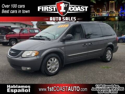 2004 Chrysler Town and Country for sale at 1st Coast Auto -Cassat Avenue in Jacksonville FL