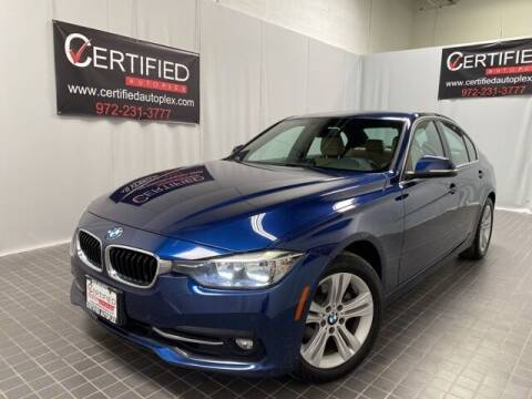 2017 BMW 3 Series for sale at CERTIFIED AUTOPLEX INC in Dallas TX