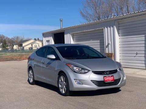 2013 Hyundai Elantra for sale at Rocky Mountain Commercial Trucks in Casper WY