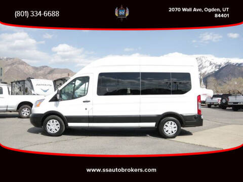 2019 Ford Transit Passenger for sale at S S Auto Brokers in Ogden UT