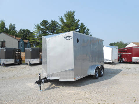 2022 Impact Tremor 7x14 for sale at Jerry Moody Auto Mart - Trailers in Jeffersontown KY