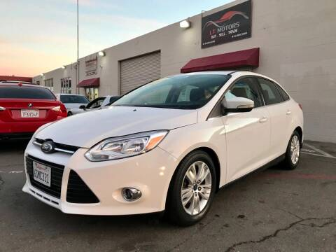 2012 Ford Focus for sale at LT Motors in Rancho Cordova CA