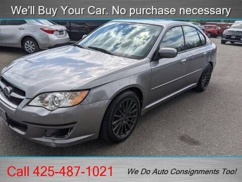 2008 Subaru Legacy for sale at Platinum Autos in Woodinville WA