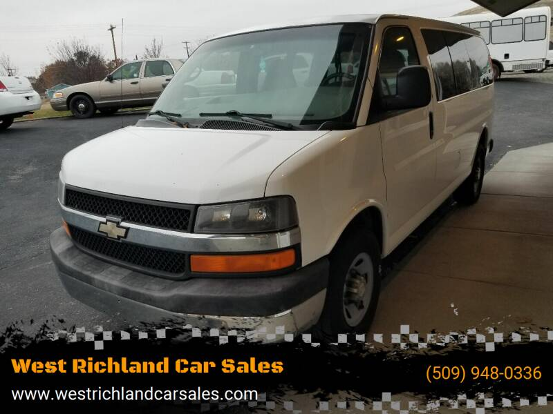 2007 Chevrolet Express Passenger for sale at West Richland Car Sales in West Richland WA