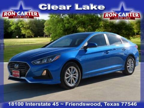 2019 Hyundai Sonata for sale at Ron Carter  Clear Lake Used Cars in Houston TX