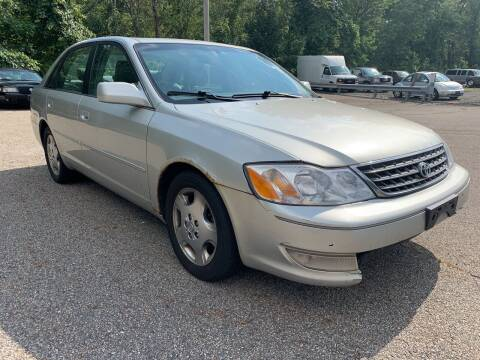 2003 Toyota Avalon for sale at George Strus Motors Inc. in Newfoundland NJ