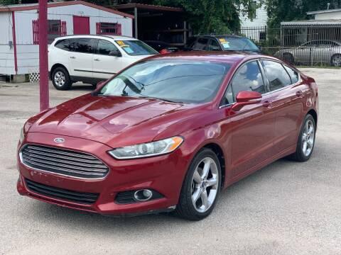 2013 Ford Fusion for sale at David Morgin Credit in Houston TX