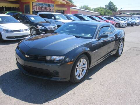 2015 Chevrolet Camaro for sale at T & D Motor Company in Bethany OK