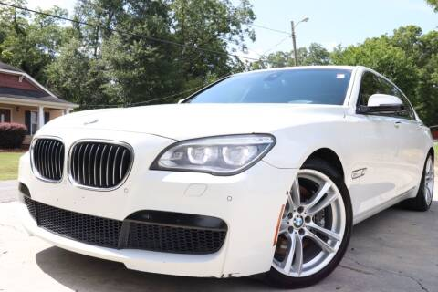 2014 BMW 7 Series for sale at E-Z Auto Finance in Marietta GA