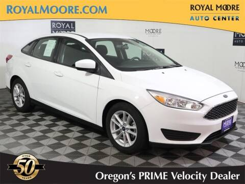2018 Ford Focus for sale at Royal Moore Custom Finance in Hillsboro OR