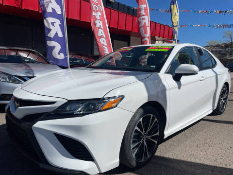 2020 Toyota Camry for sale at Duke City Auto LLC in Gallup NM