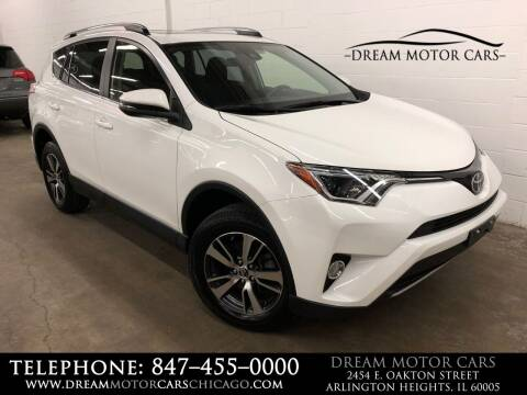 2018 Toyota RAV4 for sale at Dream Motor Cars in Arlington Heights IL