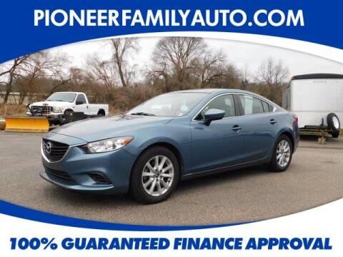 2015 Mazda MAZDA6 for sale at Pioneer Family auto in Marietta OH